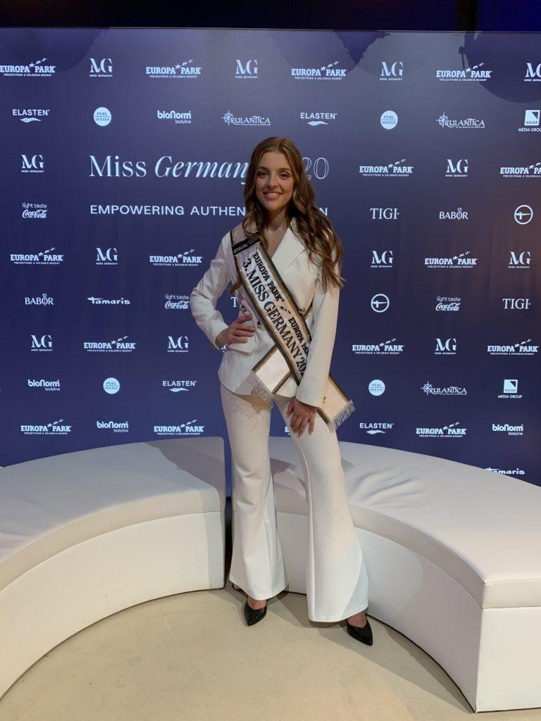 Die 24-Jährige Michelle-Anastasia ist Miss Hamburg 2020 und 3. Miss Germany 2020 / Bild: Michelle-Anastasia Masalis